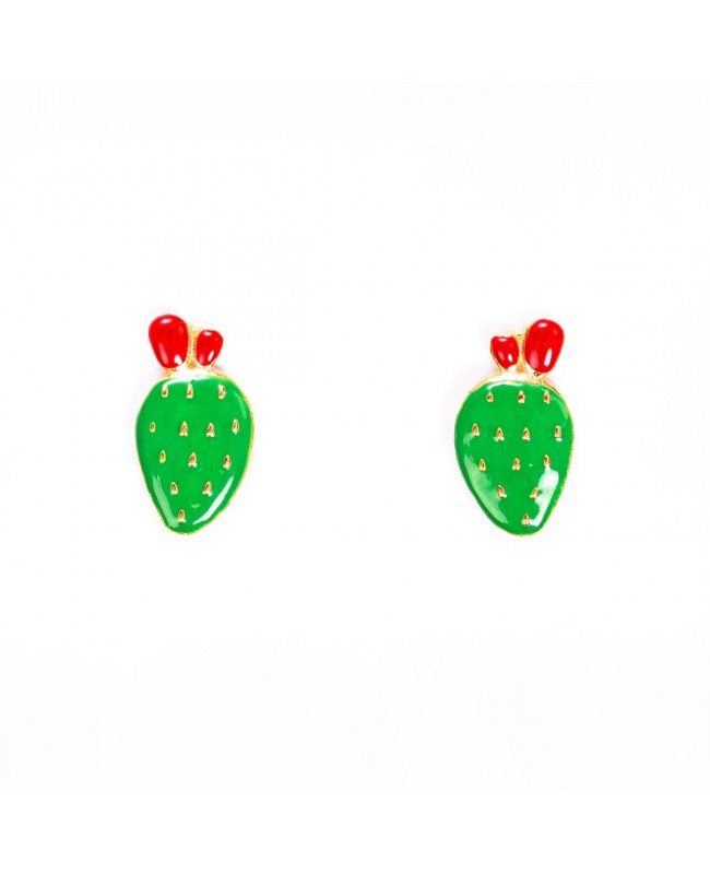 Earrings Ficodindia Smalto IMOR93D - 1 - Orecchini