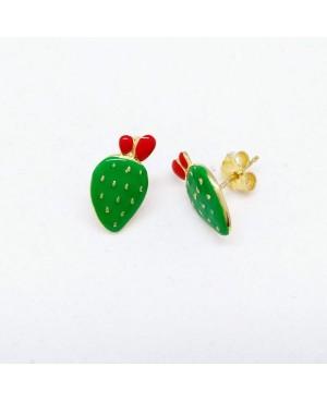 Earrings Ficodindia Smalto IMOR93D - 2 - Orecchini