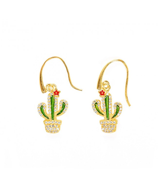 Earrings Cactus Zirc IMOR113D - 1 - Orecchini