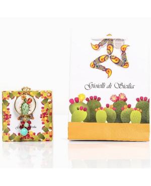 Earrings Cactus Zirc IMOR113D - 2 - Orecchini