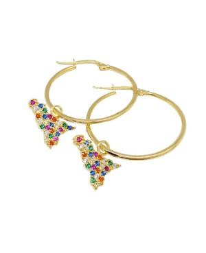 hoop earrings Sicilia IMOR76D - 1 - Orecchini