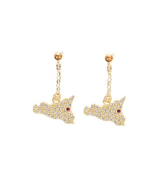 Earrings Sicilia Zirc Etna IMOR11D - 1 - Orecchini