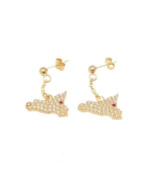 Earrings Sicilia Zirc Etna IMOR11D - 2 - Orecchini