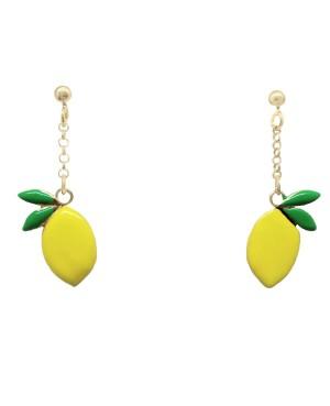 Orecchini Limone Smalto IMOR72D - 1 - Orecchini