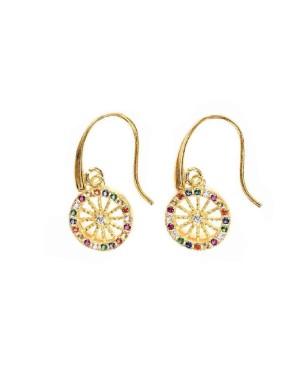 Earrings Ruota Zirc Multicolor IMOR98D - 1 - Orecchini
