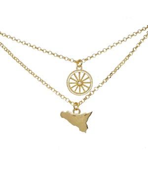 Necklace Ruota Sicilia IMCL35R - 3 - Necklaces
