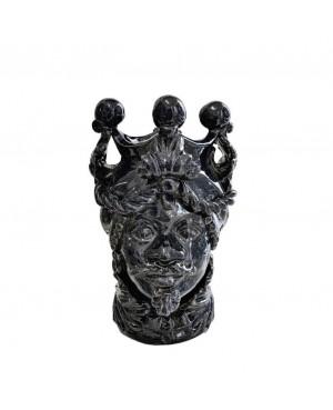 Vaso Testa di Moro HKFBLUH20M - 1 - Ceramica