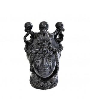 Vaso Testa di Moro HKFBLUH20F - 2 - Ceramica