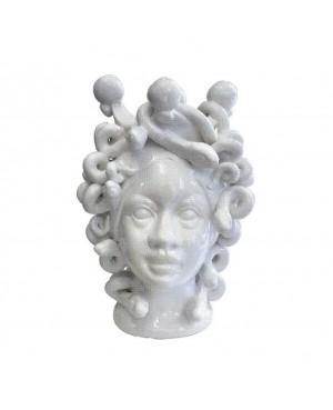 Vase Testa di Moro HFBIANCOH20MD - 1 - Ceramic