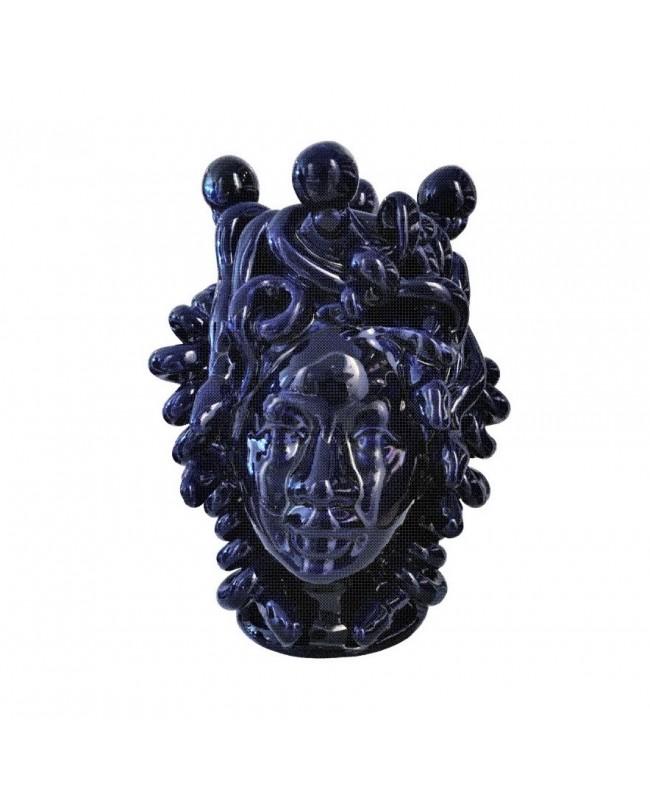 Vaso Testa di Moro HKFNEROH20P - 1 - Ceramica