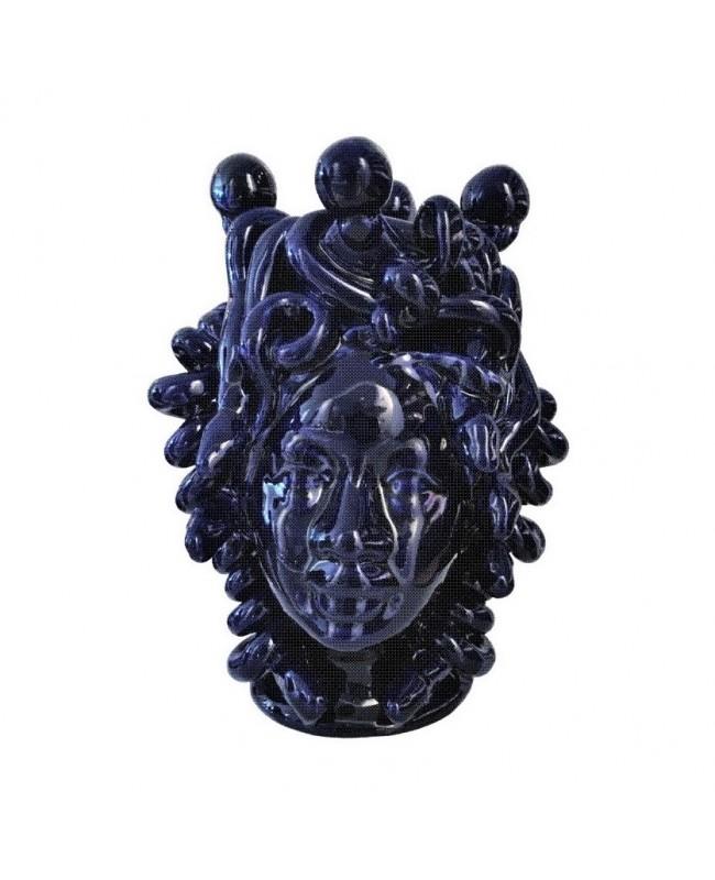 Vaso Testa di Moro HFBLUH20MD - 1 - Ceramica