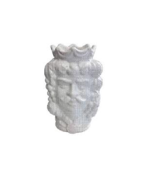 Vase Testa di Moro HKFBIANCOH14M - 1 - Ceramic