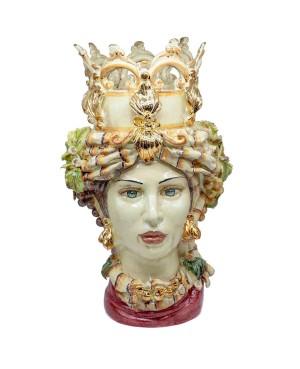 copy of Vase Testa Di Moro Limoni B68 - 1 - Ceramic