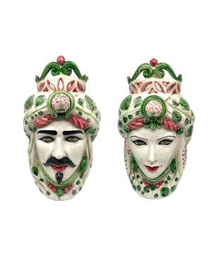 Vase Testa Di Moro Frutta B21 - 3 - Ceramic