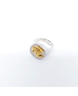 Ring Tondo Trinacria IMAN09RD - 2 - Rings