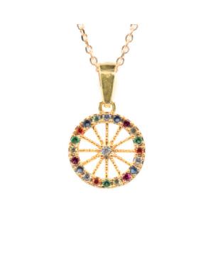 Necklace Ruota Med Zirc Multicolor IMPD36D - 1 - Necklaces