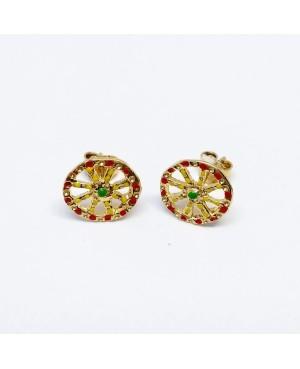Earrings Ruota 1875D BP - 1 - Orecchini