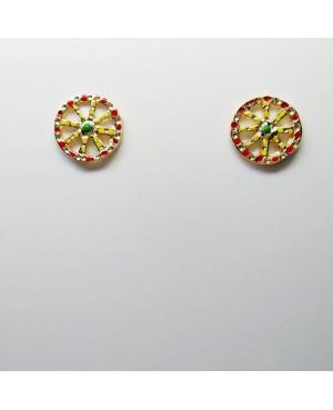 Earrings Ruota 1875D BP - 2 - Orecchini