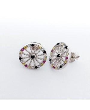 Earrings Ruota Zirc IMOR30R - 1 - Orecchini