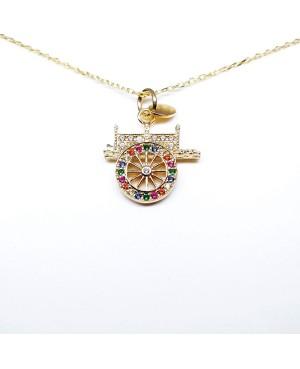 Necklace Carretto Zirc IMPD60D - 1 - Collane